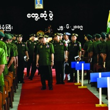 Tatmadaw will win the majority's respect only if its defence prowess is strong, Tatmadaw is strengthening its defence prowess, must have the awareness of the defence outlook to protect against the dwindling of defence prowess