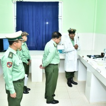 As Tatmadaw members voluntarily join the service, they already have noble spirit of defending the country; they must undergo training to have good spirit, discipline, to be fit and healthy and to have skill and courage
