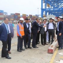 Myanmar Tatmadaw goodwill delegation visits Adani Ports and Logistics, SEZ & Solar Panel manufacturing unit in Mundra