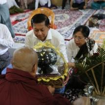 တပ်မတော်ကာကွယ်ရေးဦးစီးချုပ် ဗိုလ်ချုပ်မှူးကြီး မင်းအောင်လှိုင် ဦးဆောင်သော မြန်မာ့တပ်မတော် ချစ်ကြည်ရေးကိုယ်စားလှယ်အဖွဲ့ အိန္ဒိယသမ္မတနိုင်ငံ၊ ဗာရာဏသီမြို့အနီး မိဂဒါဝုန်ဥယျာဉ်ရှိ အထင်ကရ ဗုဒ္ဓဝင်နေရာများအား သွားရောက်ဖူးမြော်ကြည်ညိုပြီး 39 Gorkha Training Centre သို့ သွားရောက်လေ့လာကြည်ရှု(ရုပ်သံသတင်း)