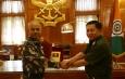 တပ္မေတာ္ကာကြယ္ေရးဦးစီးခ်ဳပ္ ဗုိလ္ခ်ဳပ္မွဴးႀကီး မင္းေအာင္လႈိင္ ဦးေဆာင္သည့္ ျမန္မာ့တပ္မေတာ္ ခ်စ္ၾကည္ေရးကုိယ္စားလွယ္အဖြဲ႕ ပူေနးၿမိဳ႕ရွိ National Defence Academy(NDA)သို႔ ေရာက္ရွိေလ့လာ (႐ုပ္သံသတင္း)
