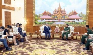 Senior General Min Aung Hlaing receives Ambassador of People's Republic of China to Myanmar
