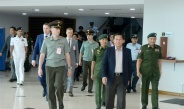 Myanmar Tatmadaw delegation led by Senior General Min Aung Hlaing arrives back from Russian Federation