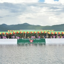 Entire Tatmadaw releasing fish, release over 7.8 million fish in the first time, over 7.3 million in the second in 2019 totalling over 15.1 million