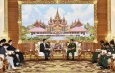 Senior General Min Aung Hlaing receives Special Envoy of Asian Affairs of Ministry of Foreign Affairs of China