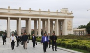 Delegation led by Senior General Min Aung Hlaing visits Gorky Park, Cathedral of Christ the Saviour
