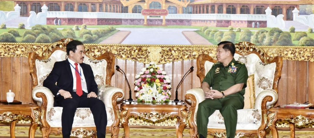Senior General Min Aung Hlaing receives Ambassador of Brunei Darussalam to Myanmar