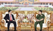 Senior General Min Aung Hlaing receives Ambassador of Brunei Darussalam to Myanmar