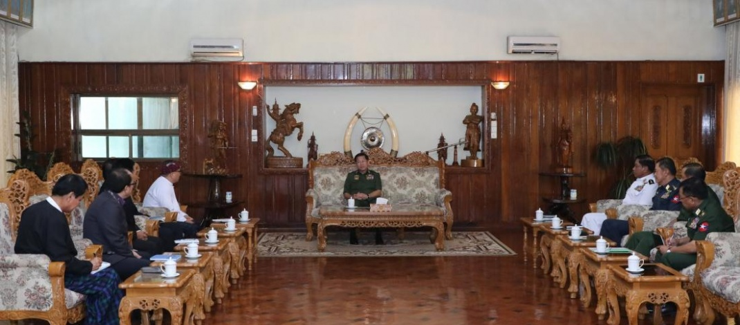 Kachin people and organizations are grateful to Tatmadaw for withdrawing lawsuit against KBC over defamation of Tatmadaw leaders and members by showing benevolent goodwill, said KBC chairman while meeting with Senior General Min Aung Hlaing