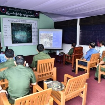 Senior General Min Aung Hlaing inspects multipurpose farm of Central Command