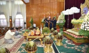 Families of Office of Commander-in-Chief (Army, Navy and Air)hold ninth collective Kathina ceremony