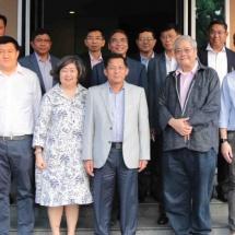 Myanmar Tatmadaw delegation led by Senior General Min Aung Hlaing visits Marsun Public Company Ltd, I Group Ltd