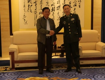 SENIOR GENERAL MIN AUNG HLAING LEAVE FOR ChiNa to ATTEND ADMM-Plus (VIP Programa)