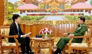 Senior General Min Aung Hlaing receives Yomiuri Shimbun News Agency of Japan, replies to queries