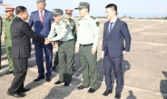 Myanmar Tatmadaw delegation led by Senior General Min Aung Hlaing arrives back from China