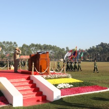 PASSING-OUT PARADE OF THE 6th INTAKE OF GRADUATE FEMALE CADET COURSE HELD