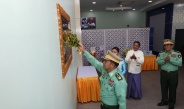 Opening ceremony of Kha Yae Pin Mart (Tatmadaw industrial products shop) and Inwa Bank Limited (Mingaladon Branch) held