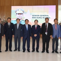 MYANMAR TATMADAW DELEGATION LED BY SENIOR GENERAL MIN AUNG HLAING VISITS VIETTEL GROUP