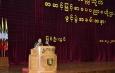 တပ္မေတာ္ကာကြယ္ေရးဦးစီးခ်ဳပ္ ဗိုလ္ခ်ဳပ္မွဴးႀကီး မင္းေအာင္လႈိင္ ျပင္ဦးလြင္ၿမိဳ႕၊ စစ္တကၠသိုလ္ အဆင့္ျမင့္စာေပပညာဗဟိုဌာန(High Education Centre)ဖြင့္ပြဲအခမ္းအနားတြင္ ဂုဏ္ျပဳအမွာစကားေျပာၾကား(႐ုပ္သံသတင္း)