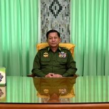 တပ်မတော်ကာကွယ်ရေးဦးစီးချုပ် ဗိုလ်ချုပ်မှူးကြီးမင်းအောင်လှိုင်၏ ၂၀၂၀ ခုနှစ်၊ ဇန်နဝါရီလ ၁ ရက်နေ့ နှစ်သစ်ကူးနှုတ်ခွန်းဆက်စကား (ရုပ်သံသတင်း)