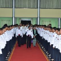 တပ်မတော်(ကြည်း) ဗိုလ်သင်တန်းကျောင်း(မှော်ဘီ)၊ ဘွဲ့ရအမျိုးသမီးဗိုလ်လောင်း သင်တန်းအမှတ်စဉ်(၆) သင်တန်းဆင်း ဂုဏ်ပြုညစာစားပွဲအခမ်းအနားကျင်းပ
