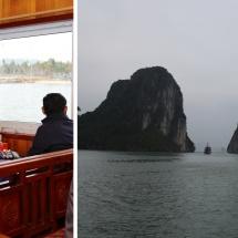 တပ်မတော်ကာကွယ်ရေးဦးစီးချုပ် ဗိုလ်ချုပ်မှူးကြီး မင်းအောင်လှိုင် ဦးဆောင်သော မြန်မာ့တပ်မတော်ကိုယ်စားလှယ်အဖွဲ့ ဗီယက်နမ်ပြည်သူ့သမ္မတနိုင်ငံ Quang Ninh ပြည်နယ်ရှိ Ha Long Bay အတွင်း လှည့်လည်ကြည့်ရှုလေ့လာ(ရုပ်သံသတင်း)
