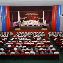 SENIOR GENERAL MIN AUNG HLAING ATTENDS GRADUATION DINNER OF21stINTAKE OF DSTA