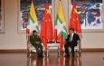 တပ္မေတာ္ကာကြယ္ေရးဦးစီးခ်ဳပ္ ဗိုလ္ခ်ဳပ္မႉးႀကီး မင္းေအာင္လႈိင္ တ႐ုတ္ျပည္သူ႔သမၼတႏိုင္ငံ သမၼတ H.E.Mr.Xi Jinping ႏွင့္ ေတြ႕ဆုံေဆြးေႏြး (႐ုပ္သံသတင္း)
