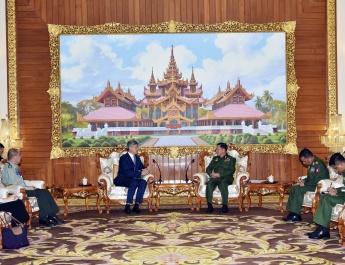 Senior General Min Aung Hlaing receives Ambassador of PRC to Myanmar
