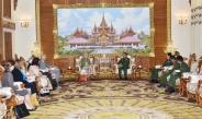 Senior General Min Aung Hlaing receives Chair of Joint Peace Fund-JPF