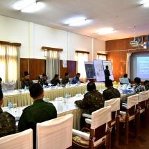 ကာကွယ်ရေးစွမ်းရည်မြင့်မား၍ ပြည်သူကအားကိုးရသော၊ တိုင်းပြည်ကအားထားရသော တပ်မတော်ဖြစ် စေရေး သမားရိုးကျစစ်ဆင်ရေးများကို အဆင့်မီဆောင်ရွက်နိုင်သည့် တပ်မတော် (Standard Army) တည်ဆောက်