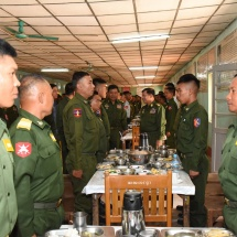 Tatmadaw members must be trained to be healthy, fit and efficient for enhancing individual efficiency; training must be centred on discipline and obedience