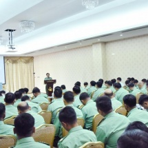 As uplifting sports skills means improving defence capability of the State, qualified athletes must be turned out through systematic training by enhancing sports sector of the Tatmadaw