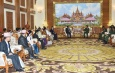 Senior General Min Aung Hlaing receives Chairman of Press Council of Nepal and party