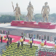 Ceremony of releasing birds marks 75th Diamond Jubilee Armed Forces Day
