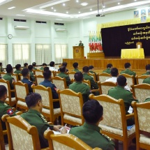 Conclusion ceremony of course No 18 of National Defence College held