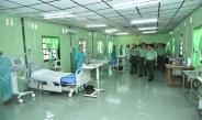 တပ္မေတာ္ကာကြယ္ေရးဦးစီးခ်ဳပ္ ဗုိလ္ခ်ဳပ္မွဴးႀကီး မင္းေအာင္လႈိင္ Coronavirus Disease 2019(Covid-19) ေရာဂါကာကြယ္ကုသေရးအတြက္ အေထာက္အကူျပဳ ေဆးႏွင့္ ေဆးပစၥည္းမ်ားလွဴဒါန္းျခင္းျပဳလုပ္၊ ေရာဂါကာကြယ္ကုသေရးအတြက္ ျပင္ဆင္ေဆာင္ရြက္ထားရွိမႈမ်ားအား ၾကည့္ရႈစစ္ေဆး(႐ုပ္သံသတင္း)