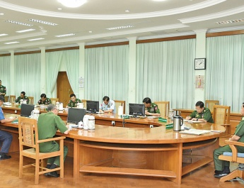 Tatmadaw holds second coordination meeting on COVID-19 prevention and containment