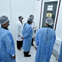 တပ်မတော်ကာကွယ်ရေးဦးစီးချုပ် ဗိုလ်ချုပ်မှူးကြီး မင်းအောင်လှိုင် ကျိုင်းတုံမြို့၊ တပ်မတော်ဆေးရုံ၌ COVID-19  ရောဂါရှာဖွေရေး RT-PCR  စက် တပ်ဆင်ထားရှိမှုအား ကြည့်ရှုစစ်ဆေး၊ ပြည်သူ့ဆေးရုံအတွက် ဆေးအထောက် အကူပစ္စည်းများပေးအပ်လှူဒါန်း၊ NDAA (မိုင်းလား) အဖွဲ့နှင့်  UWSA (ဝ) အဖွဲ့တို့မှ တာဝန်ရှိသူများအား သီးခြားစီလက်ခံတွေ့ဆုံ၊ COVID-19  ရောဂါထိန်းချုပ်ကာကွယ်ရေးဆိုင်ရာ အထောက်အကူပြုပစ္စည်းများ ထောက်ပံ့ပေးအပ်(ရုပ်သံသတင်း)