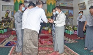 Senior General Min Aung Hlaing pays homage to Shwephonepwint Pagoda in Taunggyi