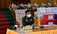 တပ်မတော်ကာကွယ်ရေးဦးစီးချုပ် ဗိုလ်ချုပ်မှူးကြီး မင်းအောင်လှိုင် ရှမ်းပြည်နယ်(မြောက်ပိုင်း) နယ်မြေအတွင်း မူးယစ်ဆေးဝါးကို ထိရောက်စွာ တားဆီးနှိမ်နင်းနိုင်ခဲ့သည့် လုံခြုံရေးတပ်ဖွဲ့ဝင်များကို ဂုဏ်ပြုချီးမြှင့်ငွေများ ပေးအပ်ချီးမြှင့်၊ (COVID-19) ရောဂါ ကာကွယ်ထိန်းချုပ် ကုသရေးအထောက်အကူပြုပစ္စည်းများပေးအပ်