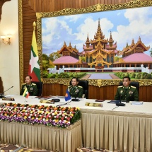 (၁၇) ကြိမ်မြောက် အာဆီယံတပ်မတော်ကာကွယ်ရေးဦးစီးချုပ်များ အစည်းအဝေး (17th ACDFIM) ကို Video Conferencing ဖြင့် ကျင်းပပြုလုပ်၊ တပ်မတော်ကာကွယ်ရေးဦးစီးချုပ် ဗိုလ်ချုပ်မှူးကြီး မင်းအောင်လှိုင် တက်ရောက် ဆွေးနွေး