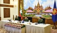 (၁၇)ကြိမ်မြောက် အာဆီယံတပ်မတော်ကာကွယ်ရေးဦးစီးချုပ်များအစည်းအဝေး (17 th ACD FM)ကို Vedio Conferencing ဖြင့် ကျင်းပပြုလုပ်၊ တပ်မတော်ကာကွယ်ရေးဦးစီးချုပ် ဗိုလ်ချုပ်မှူးကြီး မင်းအောင်လှိုင် တက်ရောက်ဆွေးနွေး