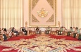 Senior General Min Aung Hlaing receives Chief of the Army Staff of India General MM Naravane