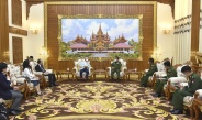 Senior General Min Aung Hlaing receives delegation led by Special Envoy of Japanese Government for National Reconciliation in Myanmar and President of Nippon Foundation of Japan