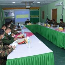 Senior General Min Aung Hlaing inspects multipurpose model farm of Northern Command, pays homage toYahandatahtaung Shinpinmyatswa Hsutaungpyae Pagoda in Waingmaw