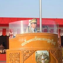 တပ်မတော်ဆေးတက္ကသိုလ် ဗိုလ်လောင်းသင်တန်းအမှတ်စဉ်(၂၁)သင်တန်းဆင်း ဂုဏ်ပြု စစ်ရေးပြအခမ်းအနားကျင်းပပြုလုပ်