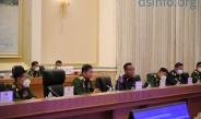 တပ်မတော်ကာကွယ်ရေးဦးစီးချုပ် ဗိုလ်ချုပ်မှူးကြီး မင်းအောင်လှိုင် ရုရှားဖက်ဒရေးရှင်းနိုင်ငံ၊ ကာကွယ်ရေးဝန်ကြီး Army General Sergey K.SHOIGU အား ဂုဏ်ပြုကြိုဆို၊ တွေ့ဆုံဆွေးနွေး (ရုပ်သံသတင်း)