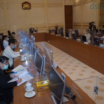 Foreign Policy Committee holds Meeting 1/2021; Committee Chairman Commander-in-Chief of Defence Services Senior General Min Aung Hlaing delivers address