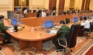 State Administration Council Chairman Senior General Min Aung Hlaing addresses coordination meeting of State Administration Council, Nay Pyi Taw Council, region/state administration councils, self-administered division or zone administration bodies